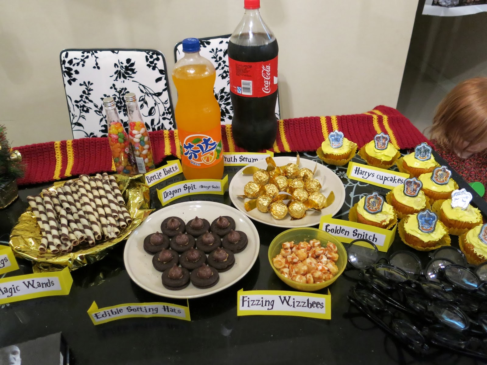 Harry Potter Party Food Pictures To Pin On Pinterest
