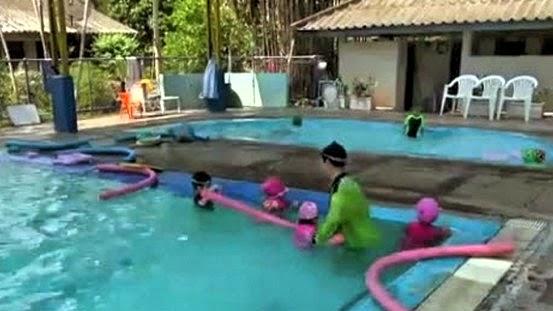 Schwimmen lernen Thailand
