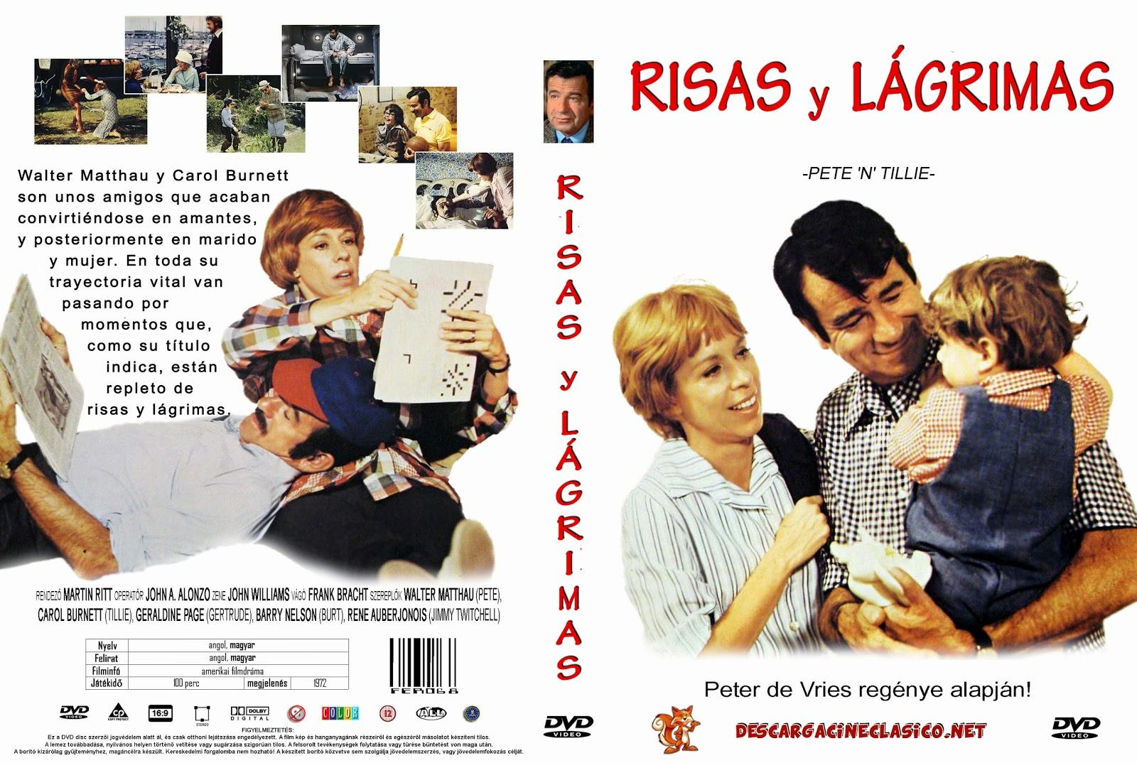 Risas y lágrimas (1972 - Pete 'n' Tillie)
