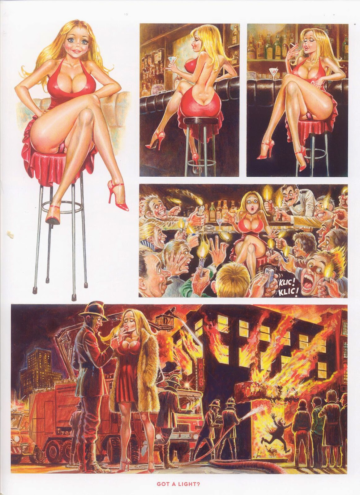 Breast of Dolly, SQP, Cartoon Sex, Got a light?