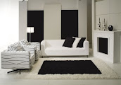#3 Black & White Livingroom Design Ideas