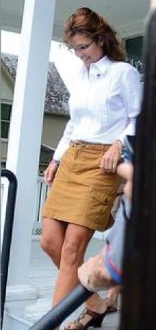 sarah palin skirt Via Palingates Blo   Sarah Palin Skirt