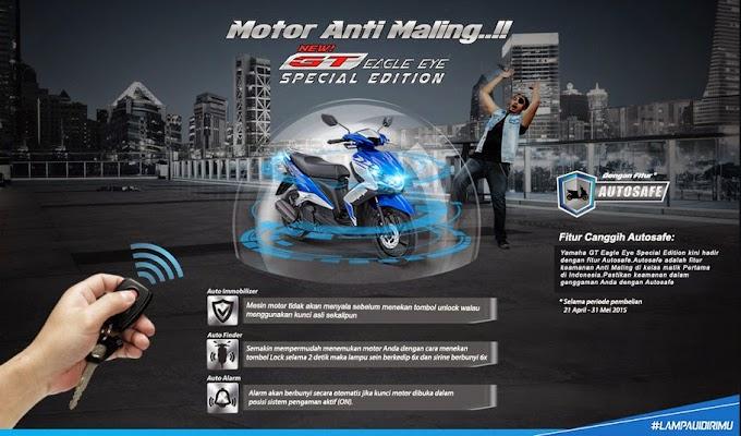 "Yamaha Perkenalkan ""Yamaha Autosafe"" pada GT125 Eagle Eye Special Edition"