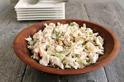 Tarragon Chicken Salad Slaw