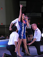 Katy Perry performs at a campaign rally for President Obama