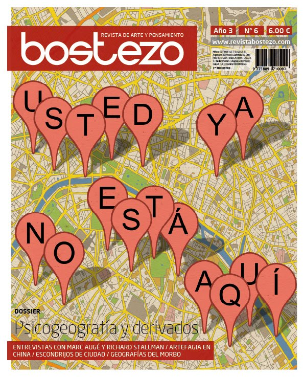 Bostezo nº6 - 80 pàgines dedicades a l´art i al pensament