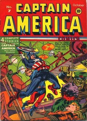 Captain America Comics #7 comic