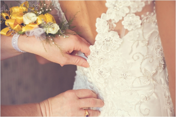 Real Wedding in Ohio via Modernly Wed