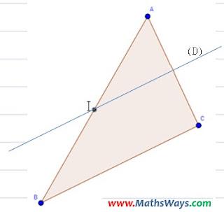 التوازي و منتصفات اضلاع مثلث جزء 2 - الثانية اعدادي
