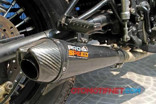 Modifikasi Kawasaki Ninja 250R Klasik