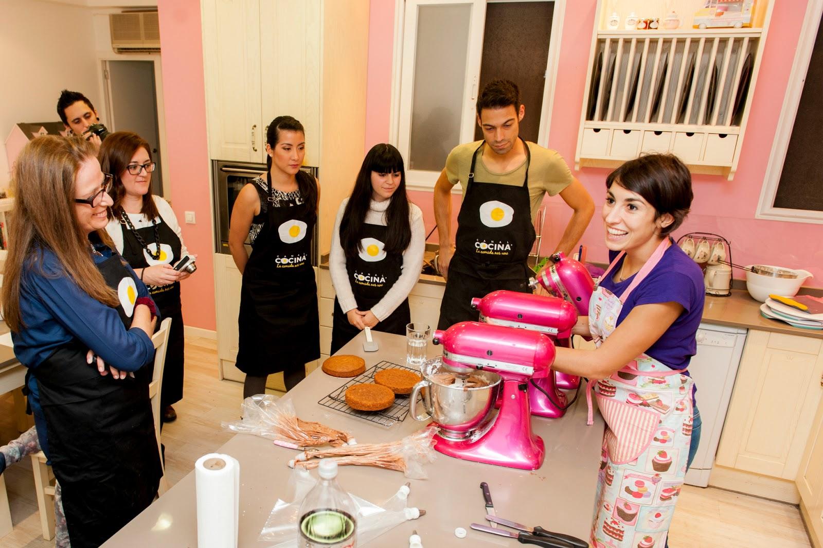 Curso de Layer Cakes con Alma Obregón