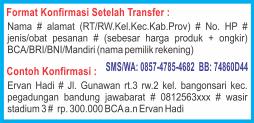 Format pemesanan AMBEJOSS Salep Wasir