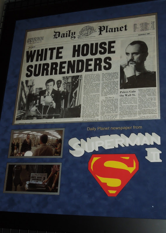 Superman II Daily Planet newspaper