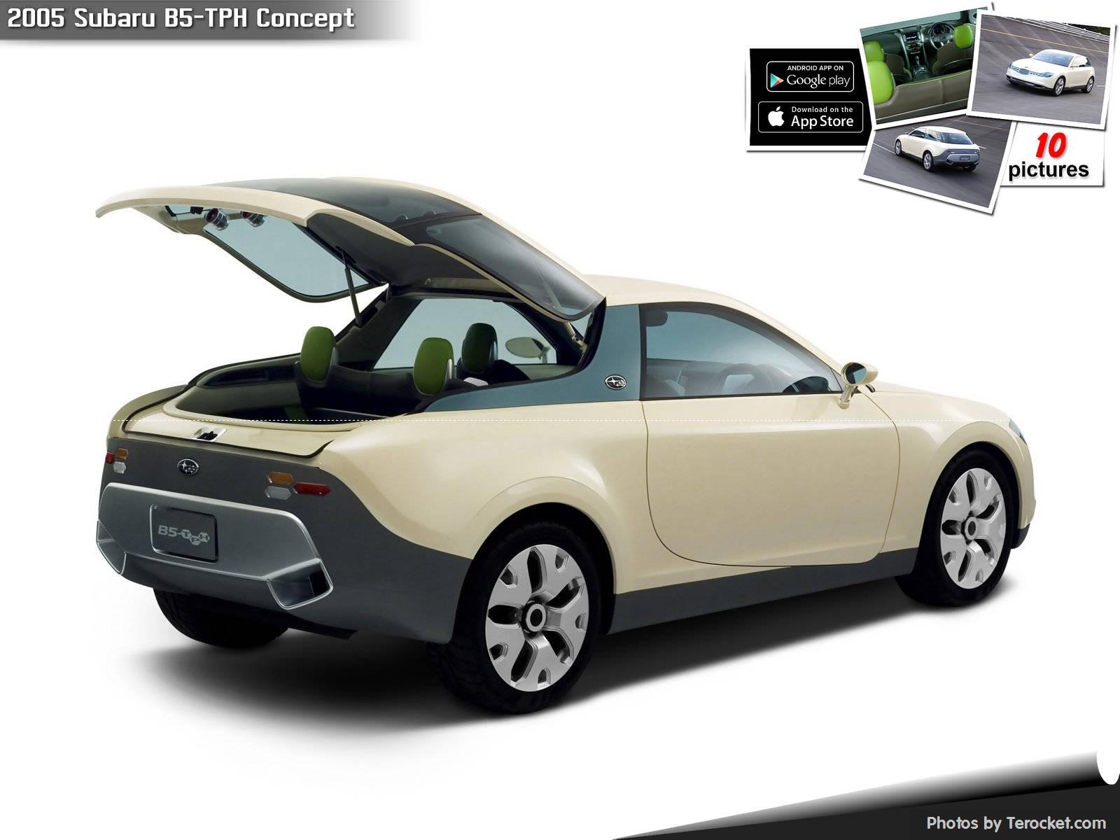 Hình ảnh xe ô tô Subaru B5-TPH Concept 2005 & nội ngoại thất
