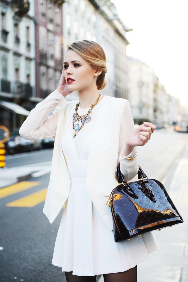 Vestidos invierno blanco
