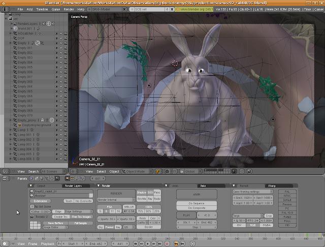 Software-software untuk membuat animasi 3D dan model 3D