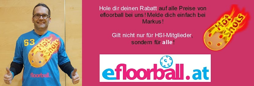 Hot Shots Innsbruck Hockey Floorball efloorball