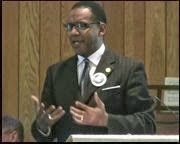 Rev. Curtis Gatewood preaching at CUCC in 2013