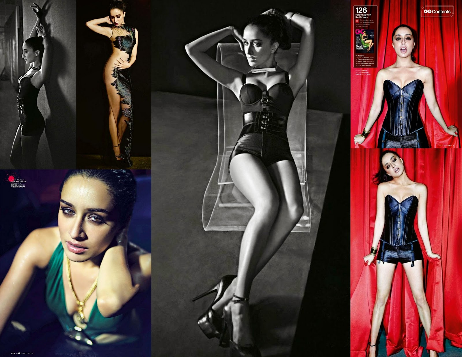 Shradha Kapoor Photoshoot for GQ Magazine