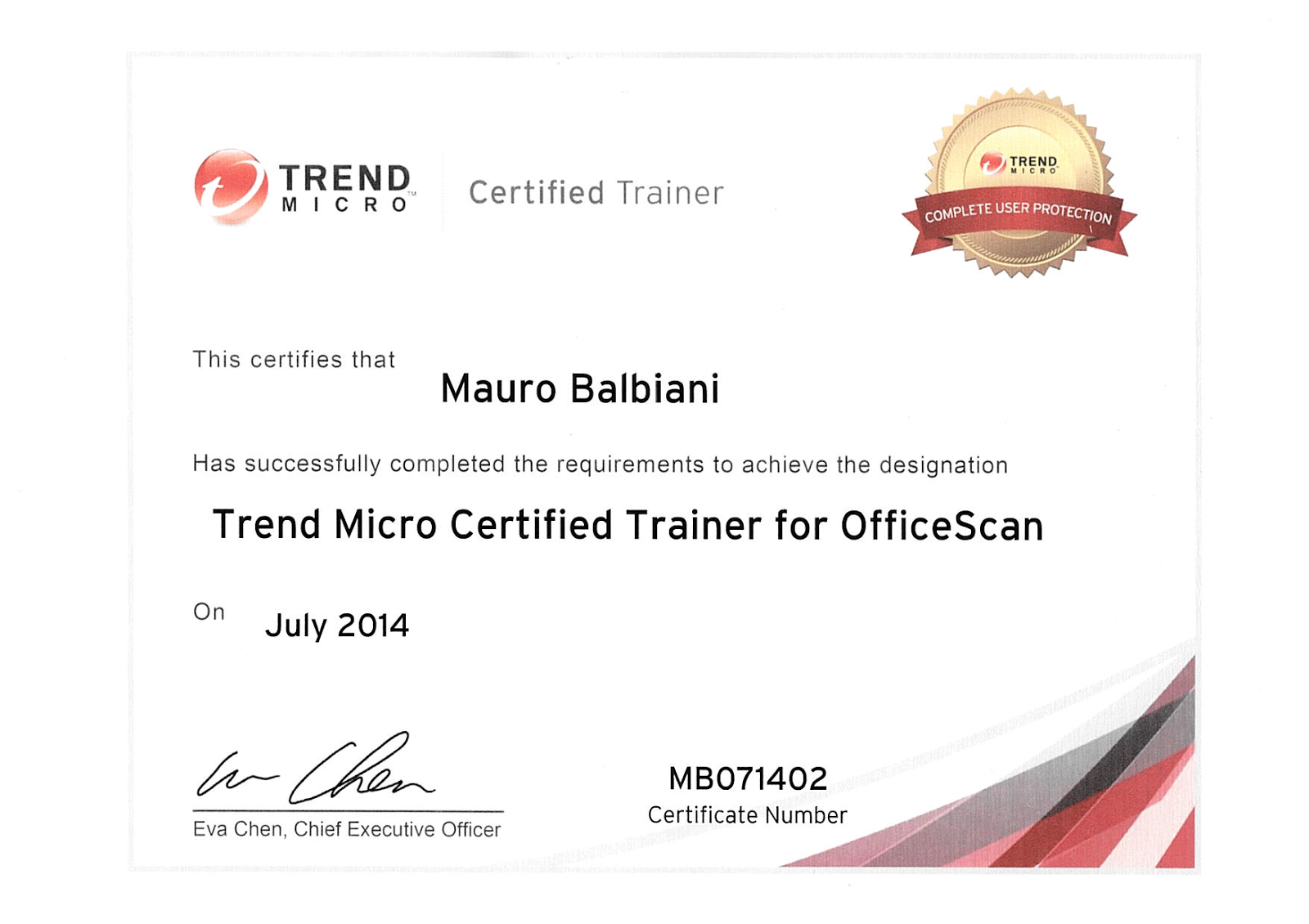 Trend Micro Officescan Trainer