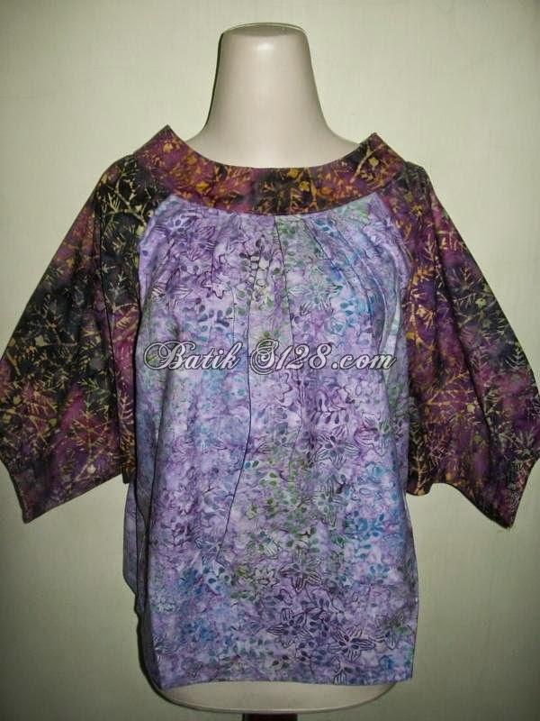 Foto Baju Batik Santai