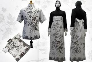 PO A1 MODEL BAJU BATIK WANITA MODERN