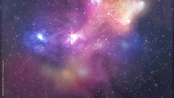 galáxia lilás