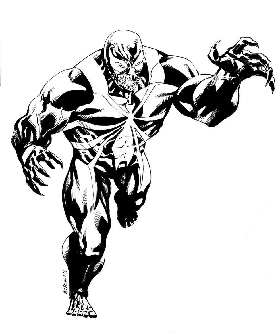 venom robert atkins art