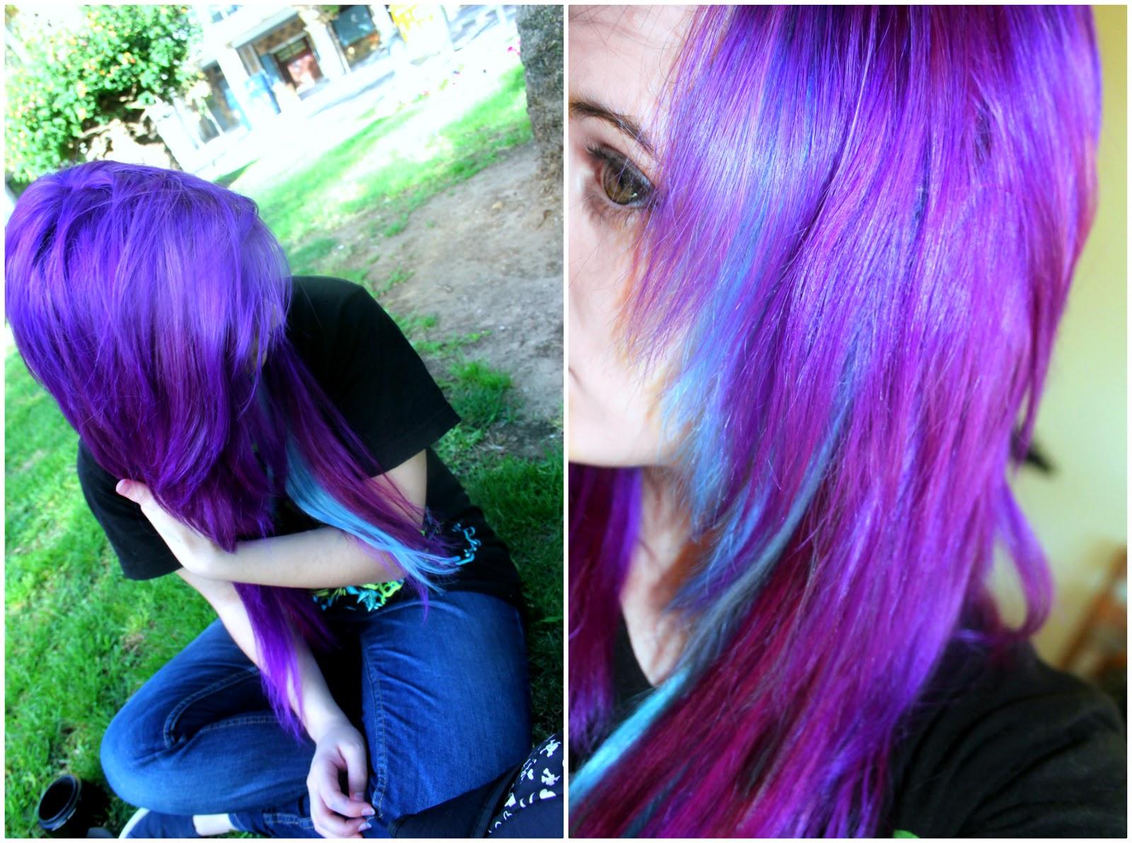 Morpha Is Cute Purple Haze Hair Dye From Manic Panic