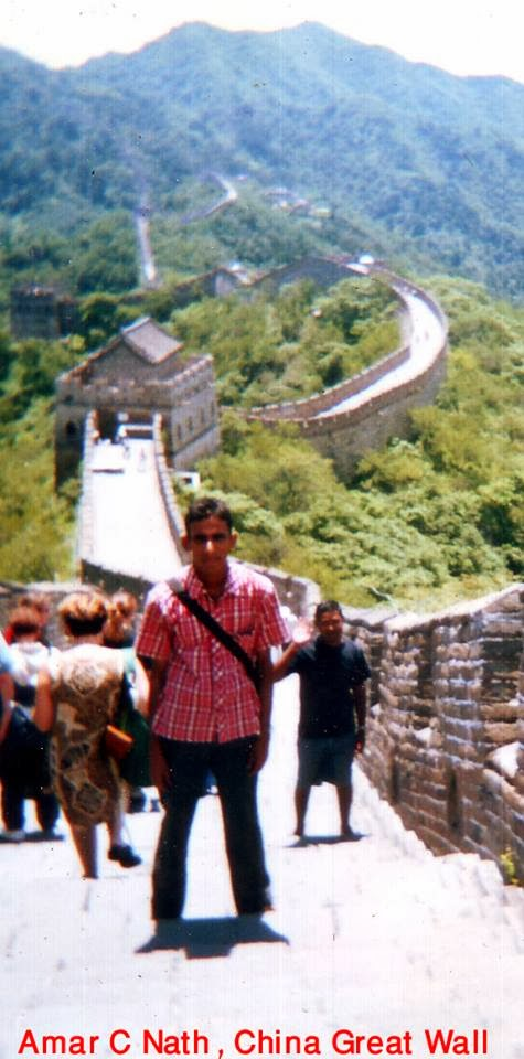I am in China Great Wall