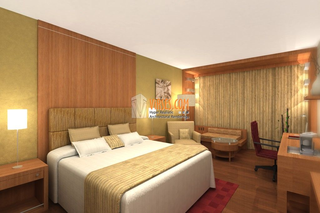 Interior decorations design of hotel room interior car for Design hotel rom