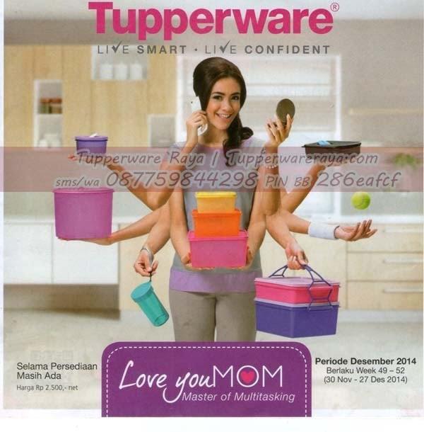 Katalog Promo Tupperware Desember 2014