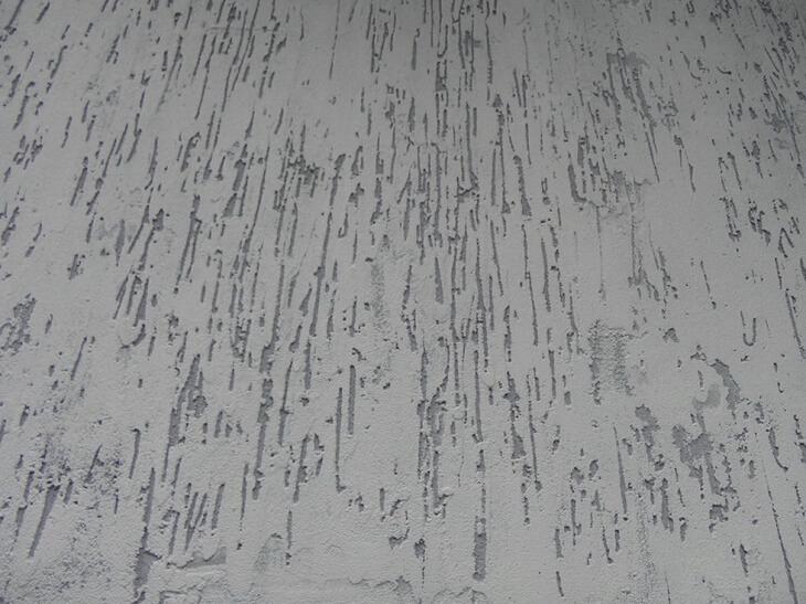 Декоративная штукатурка дождь из шпаклевки