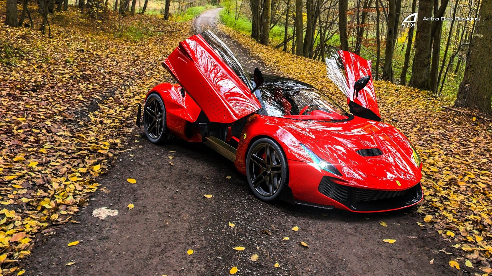Ferrari Zenyatta Is A Designers Vision For A New Hypercar
