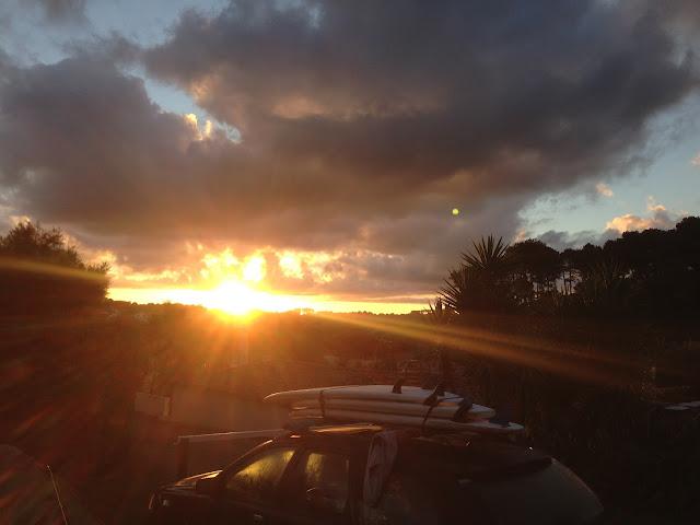 rising-sun-at-saint-jean-de-luz-beach-france-surf-trip-2015-atlantic-ocean-spaander-sealiberty-cruising