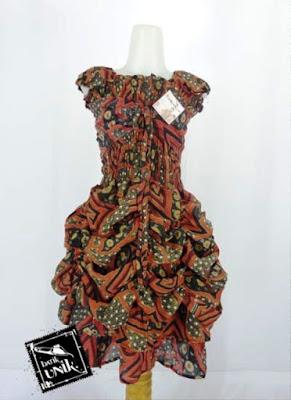 Model Baju Batik Anak Perempuan 8