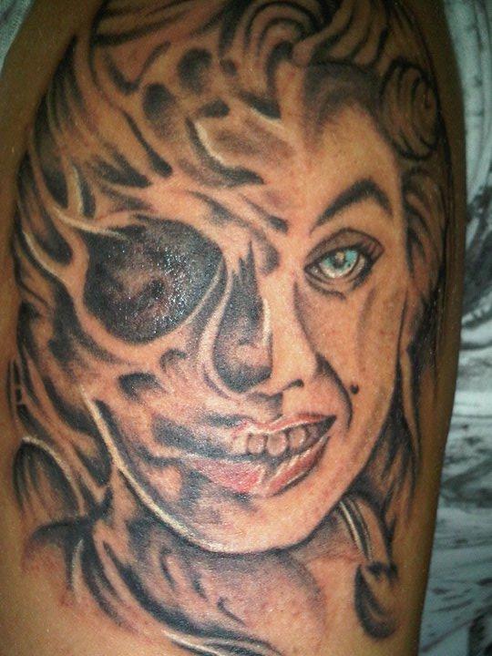 stern tattoo. stern tattoo