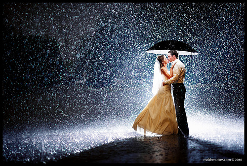 Romantic Photos In Rain