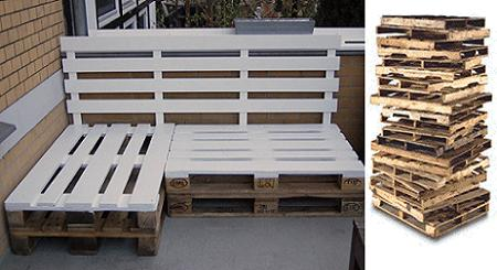 Sillones De Palets De Madera Stunning Free Ideas Para Reutilizar - Sillon-palets-madera