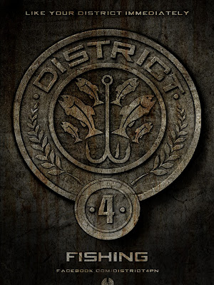 The Hunger Games District 4 Fishing Poster