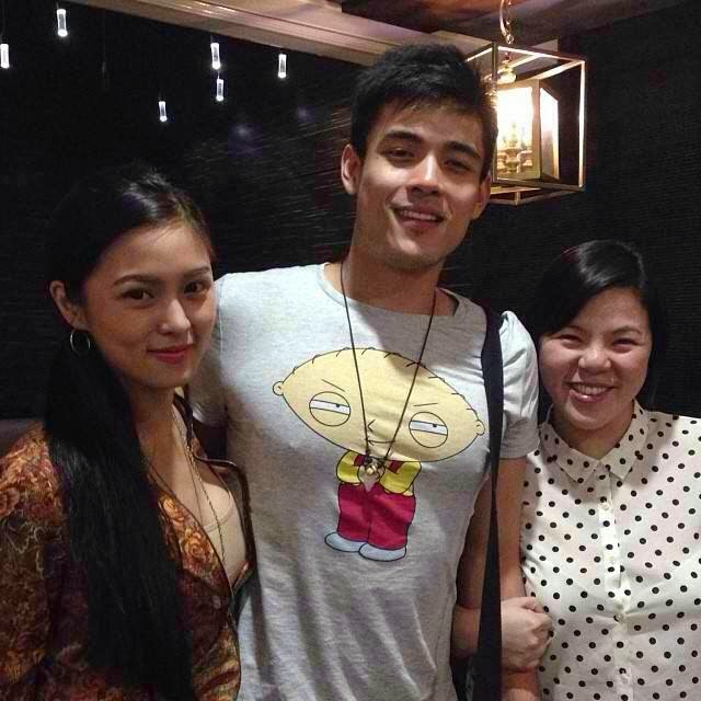 stellacosy : Thanks for dinner @xianlimm @chinitaprincess !