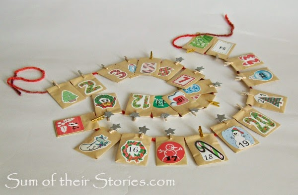 easy to make advent calender