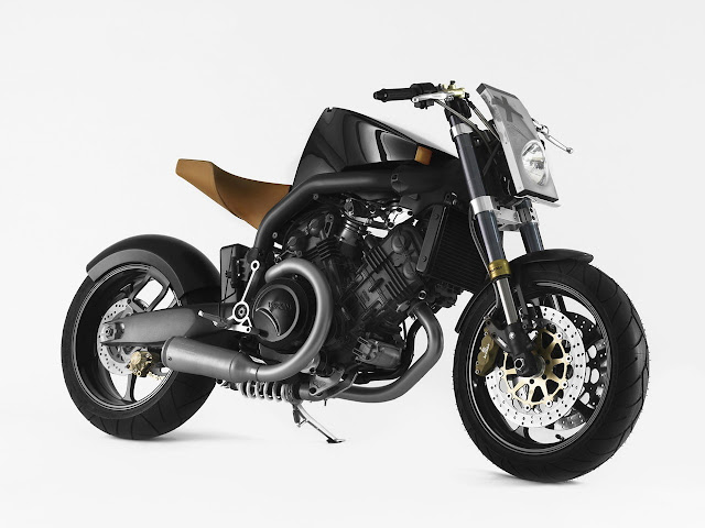 Philippe Starck Voxan Super Naked Motorcycle