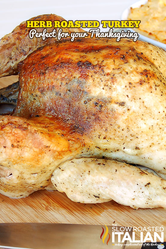 Our Herb Roasted Turkey is so moist and flavorful it is the only ...