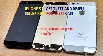IPHONE 5S FOUND WHEN EVER THEFTS