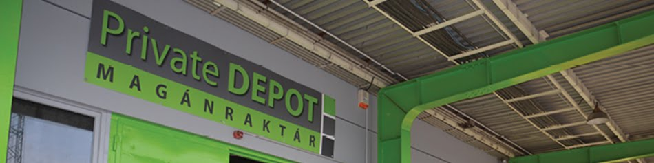 Private Depot Magánraktár