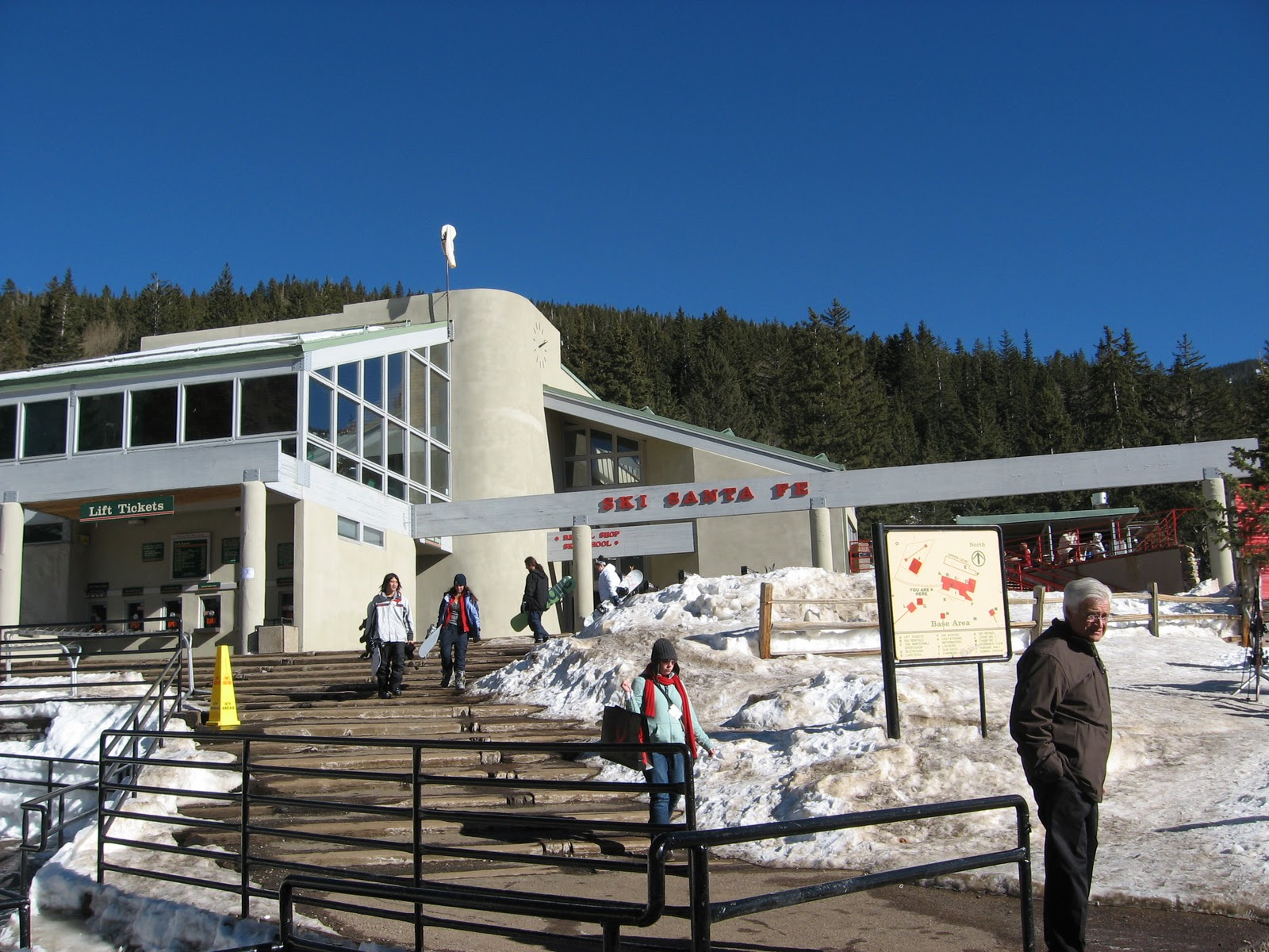 the santa fe ski basinone of new mexico's most popular ski areas
