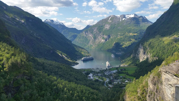 Hermoso paisaje de Noruega - Fotografía de Christer Forsling