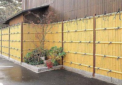 Design-Fence-Bamboo-Yellow-Minimalist