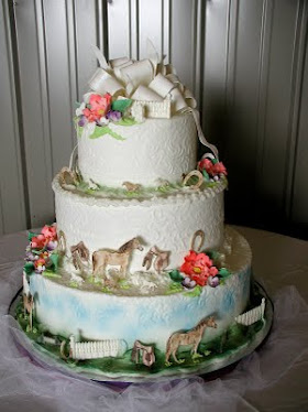 imprint wedding cake